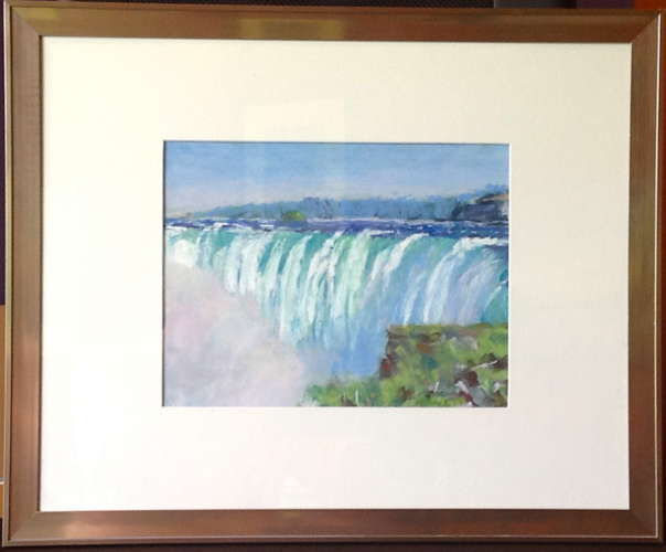 Table Rock, Pastel, 9x12 (framed: 16x20), $$250.0000