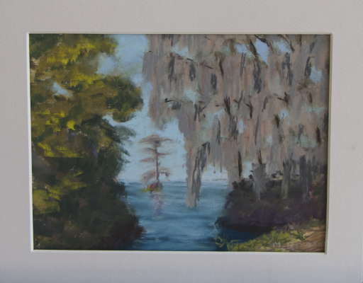 Osprey Tree, Pastel, 8x10 (framed: 8x10), $$75.0000