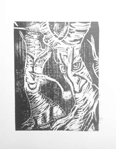 Tree Spirits, Ink, 5 x 7, $$15.0000