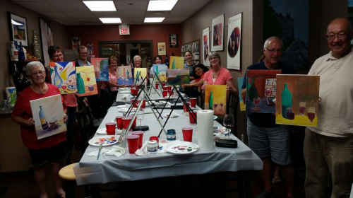 Paint and Sip May 2016